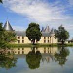 One of the many Chateaux in Burgundy